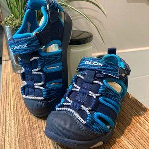 GEOX B Multy Boy sandals navy blue size 24 (8 US)